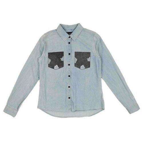 Koszula - adel patch shirt bleached lg. blue (29029) rozmiar: 38 marki Blend she