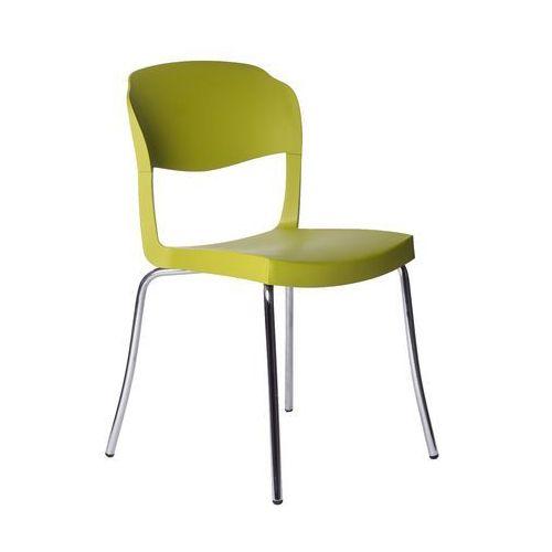 Krzesło Evo Strass Green zielone, GEVOS-zielone
