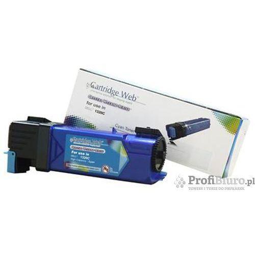 Cartridge web Toner cw-d1320cn cyan do drukarek dell (zamiennik dell 593-10259 / ku051) [2k]