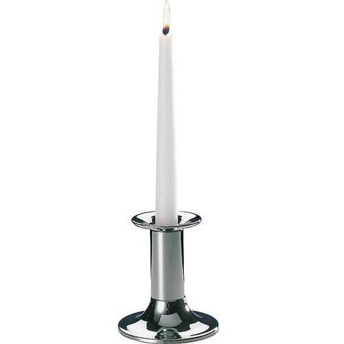 Świecznik Pojedynczy - Chromowany | wys. 110 mm