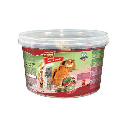 pokarm dla świnki morskiej 2w1 wiaderko 1.6kg marki Vitapol