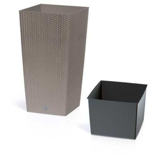 Prosperplast Doniczka rato square drts400-7529u mocca