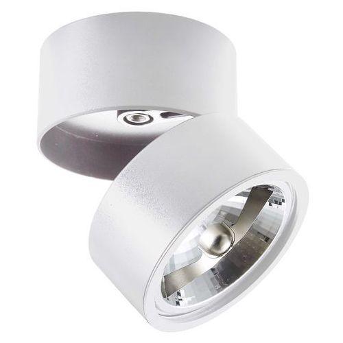 Plafon Zuma Line Lomo CL1 20001-WH lampa oprawa sufitowa 1x40W G9 biały, kolor Biały