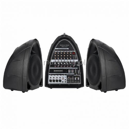 American Audio PPA210 zestaw nagłośnieniowy 2x150W