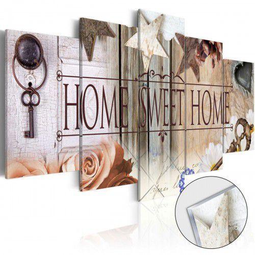 Obraz na szkle akrylowym - Klucz do właściwych drzwi [Glass]