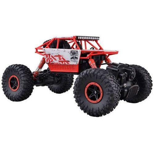 Zdalnie sterowany Samochód RC Rock Crawler 1:18 4WD 2,4GHz czerwony (5901779365428)