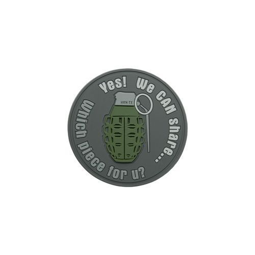 Helikon-tex / polska Naszywka helikon granat we can share pvc szara (od-gsh-rb-19)