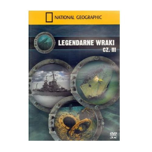 National geographic Legendarne wraki. część iii (5902814722114)