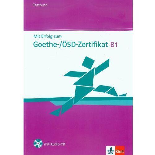 Mit Erfolog zum Goethe B1 /CD gratis/ (9783126758512)