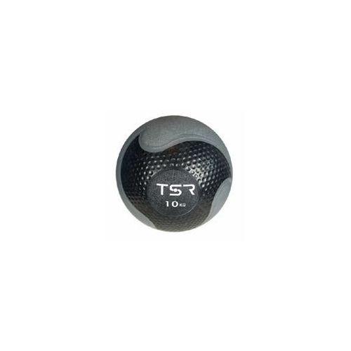 piłka lekarska kauczukowa- czarny, 10 kg - czarny \ 10 kg marki Tsr
