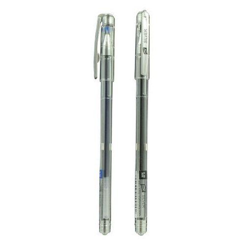 Długopis żelowy Easy Silver czarny x1