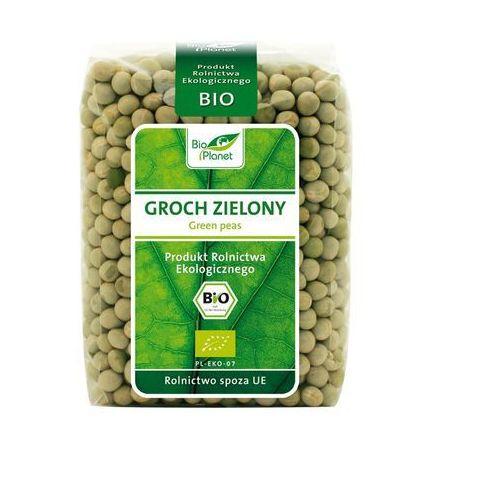Bio Planet: groch zielony cały BIO - 400 g (ziarna i strączkowe)