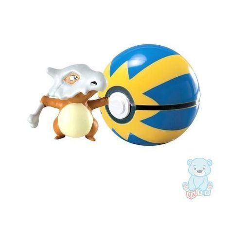 Figurka pokemon cubone i quick ball marki Tomy