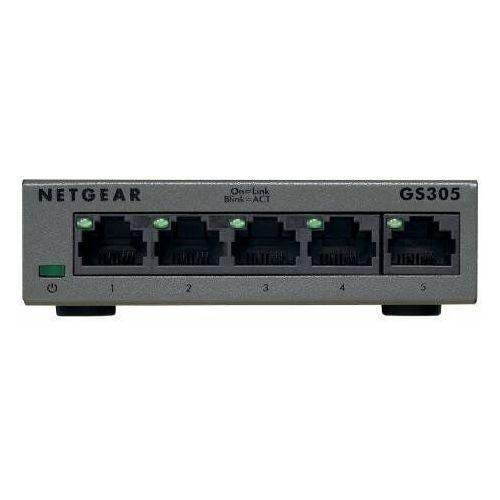Switch niezarządzalny gs305 v3 5x 10/100/1000 rj45 marki Netgear