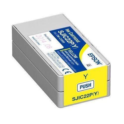 Pojemnik z tuszem do drukarki colorworks c3500 (żółty) marki Epson