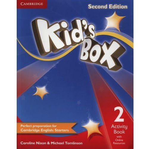 Kid's Box 2 Second Edition. Ćwiczenia z Dostępem do Ćwiczeń Online (96 str.)