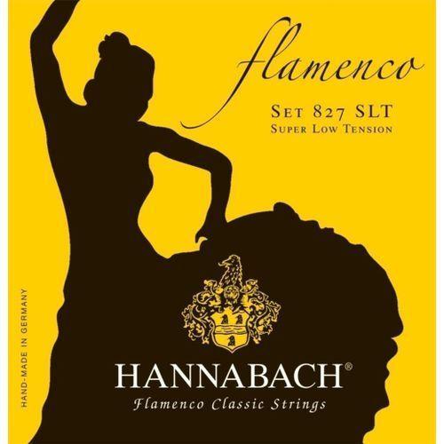 (652957) 827slt struny do gitara klasycznej (super light) - komplet marki Hannabach