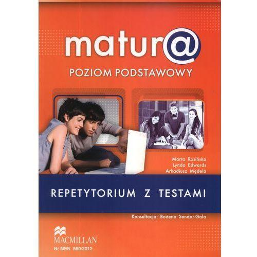 Matura poziom podstawowy Język angielski Repetytorium z testami (+CD)