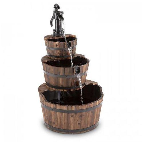 Blumfeldt cascada 2g fontanna kaskadowa ogrodowa wodotrysk 12w 800l/h drewno (4260435918455)