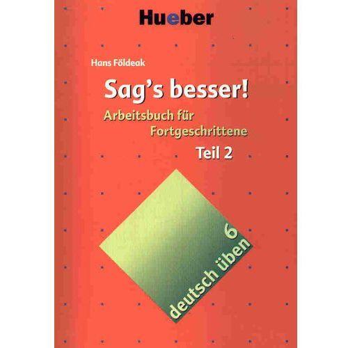 Deutsch uben 6 sags besser teil 2, oprawa miękka