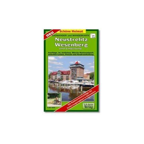 Doktor Barthel Karte Neustrelitz, Wesenberg und Umgebung (9783895911750)
