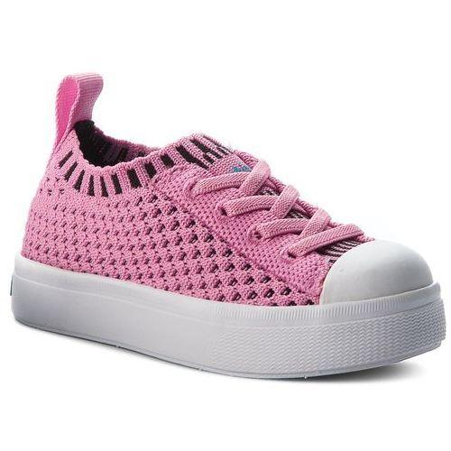 Trampki NATIVE - Jefferson 2.0 Liteknit 23100119-5670 Malibu Pink/Shell White, kolor różowy