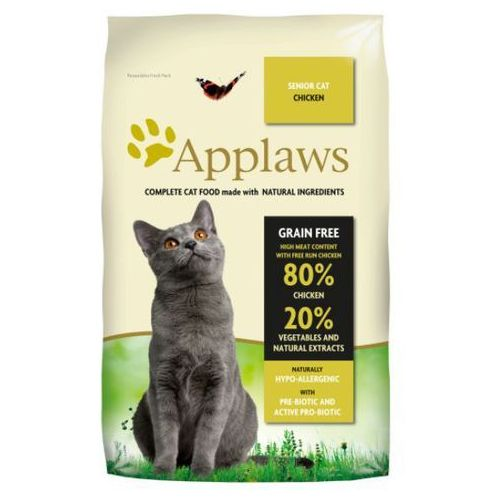 APPLAWS Senior Cat Chicken karma dla kotów opak. 400g/2kg/7,5kg