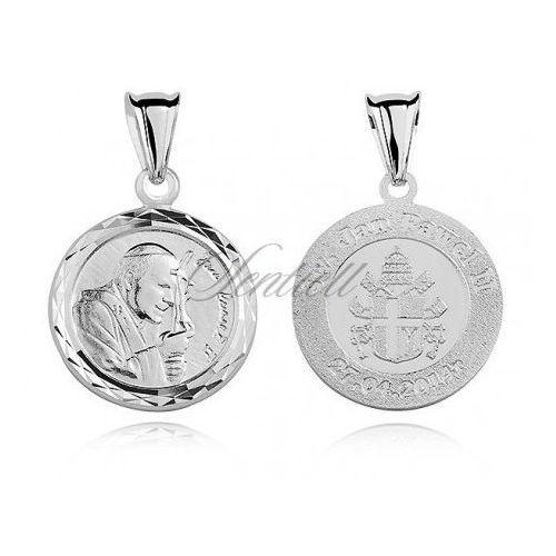Sentiell Srebrny medalik święty jan paweł ii - md266