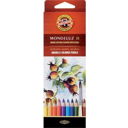 Kredki akwarelowe Koh-I-Noor Mondeluz 3717 18kol. - produkt z kategorii- Kredki akwarelowe