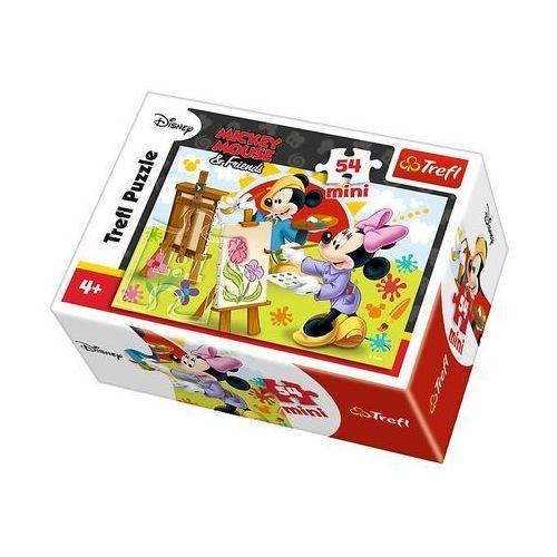 Trefl Puzzle 54 mini disney myszka miki i przyjaciele minnie (5900511195545)