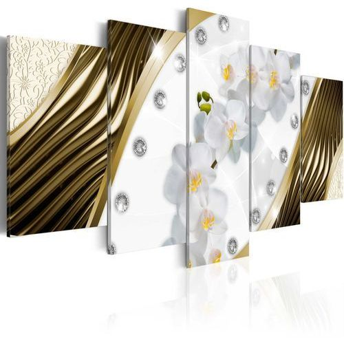 Obraz - złote orchidee marki Artgeist