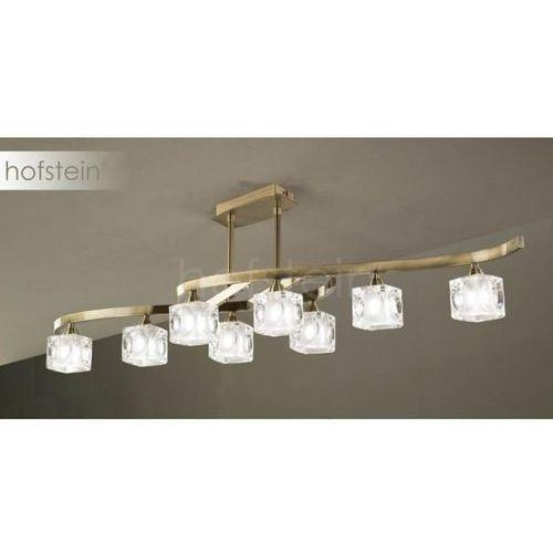 Mantra cuadrax lampa sufitowa mosiądz, 8-punktowe - nowoczesny - obszar wewnętrzny - cuadrax - czas dostawy: od 10-14 dni roboczych