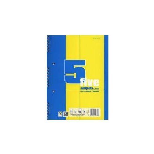 Kołozeszyt b5 top-2000 w kratkę 100 kartek pięć przedmiotów marki Hamelin