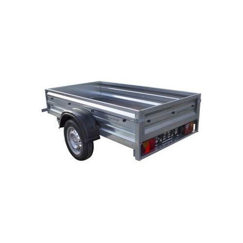 Unitrailer Przyczepa samochodowa 200 x 106 lekka dmc 750 kg garden trailer 200