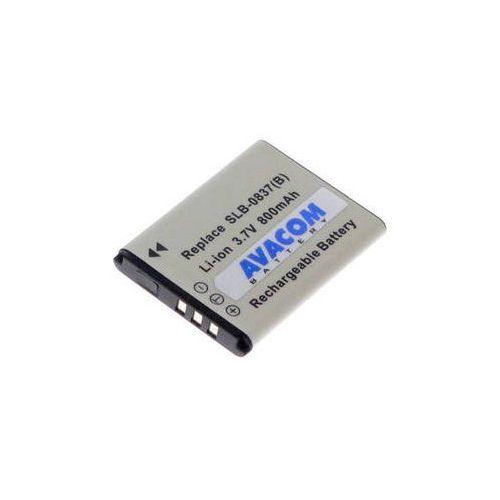 Bateria do notebooków  pro samsung slb-0837(b) li-ion 3,7v 850mah (diss-0837-055n2) czarna marki Avacom