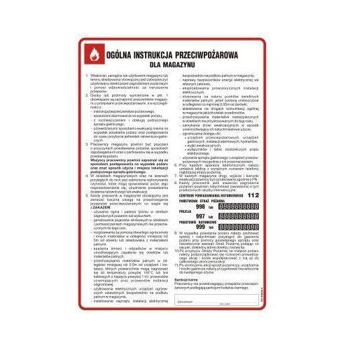 Ogólna instrukcja przeciwpożarowa dla magazynu