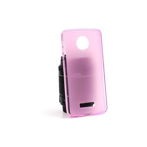 Etuo flexmat case Lenovo moto z - etui na telefon flexmat case - różowy