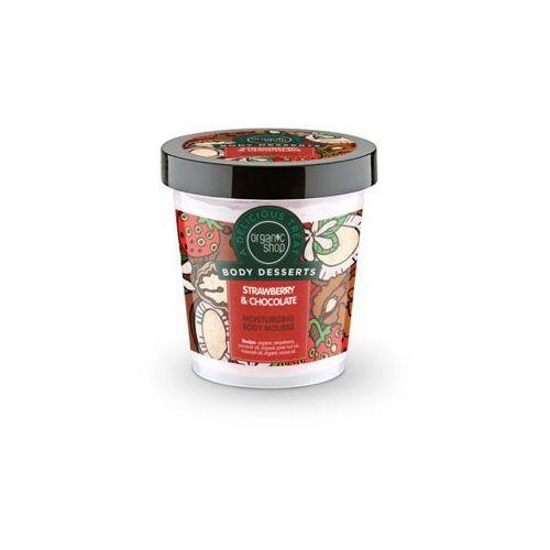 Organic shop body desserts mus do ciała nawilżajšcy strawberry & chocolat 450 ml marki Sib