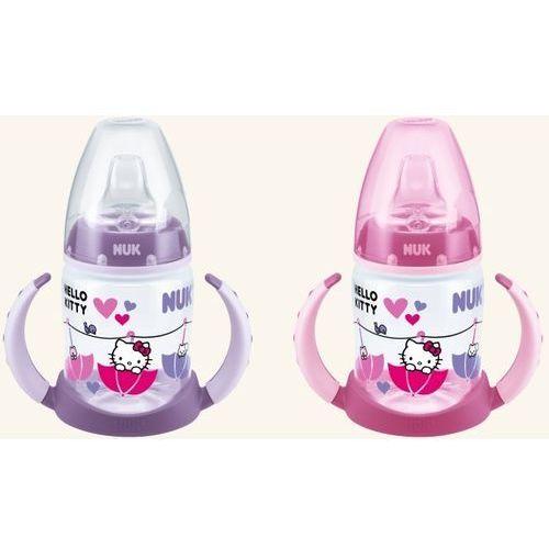 Butelka NUK Hello Kitty - 150ml z uchwytem, niekapek
