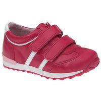 Sneakersy na rzepy buty 3877 skórzane marki Kornecki