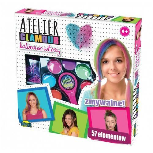 Atelier glamour kolorowe włosy marki Dromader
