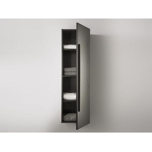 Meble łazienkowe - szafka wisząca łazienkowa czarna - mataro wyprodukowany przez Beliani