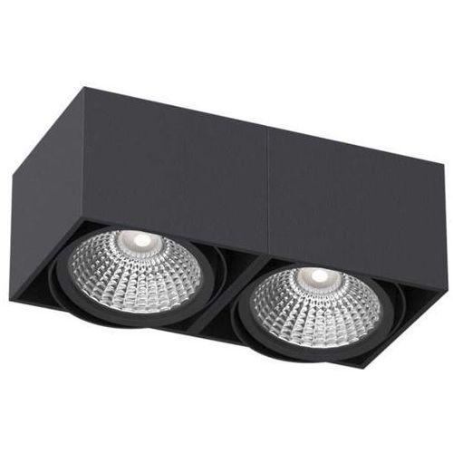 Natynkowa LAMPA sufitowa TITO T113C3+kolor Cleoni metalowa OPRAWA downlight prostokątny, T113C3+kolor