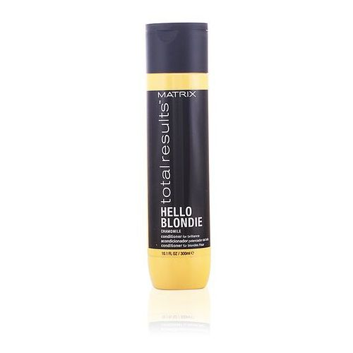 Matrix  total results hello blonde - odżywka do włosów blond 300ml (3474630741829)