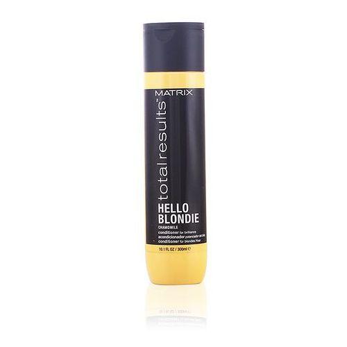 Matrix Total Results Hello Blonde - Odżywka do włosów blond 300ml - sprawdź w wybranym sklepie