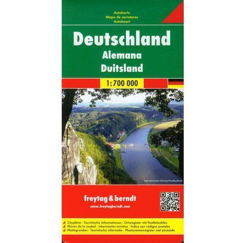 Niemcy Mapa Drogowa 1:700 000 (9783850842631)