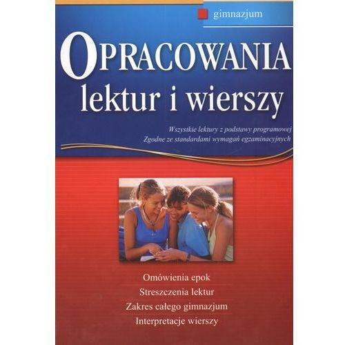 Opracowania lektur i wierszy Gimnazjum (2011)