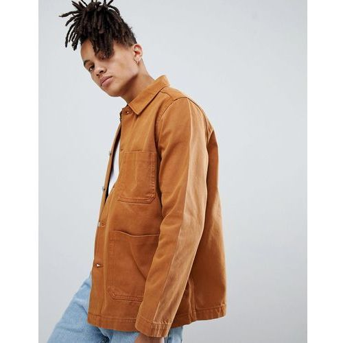 generic denim jacket tobacco - brown, Weekday