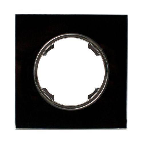 Efapel Ramka pojedyncza soul czarny dmp solid (5903332581009)