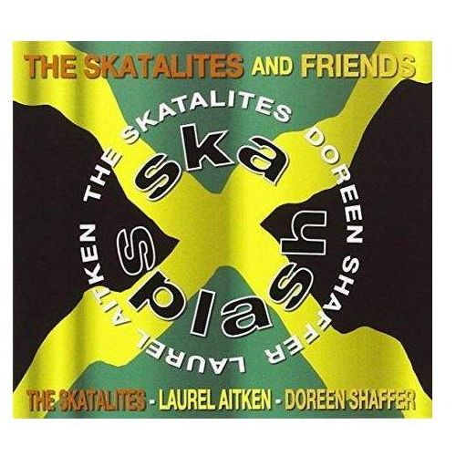 Cherry red Skatalites and friends, the - ska splash (5013929681828)